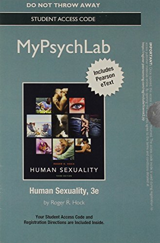 NEW MyPsychLab with Pearson eText -- Standalone Access Card -- for Human Sexuality (3rd Edition)