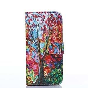 Carcasas de Cuerpo Completo - Diseño Especial - para iPhone 6 ( Colores Surtidos , Cuero PU )