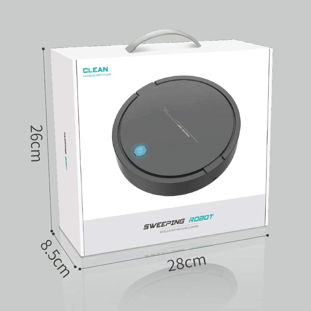Blanchel Aspirador autom/ático con robot Aspirador con robot con carga USB 360 /° Clean