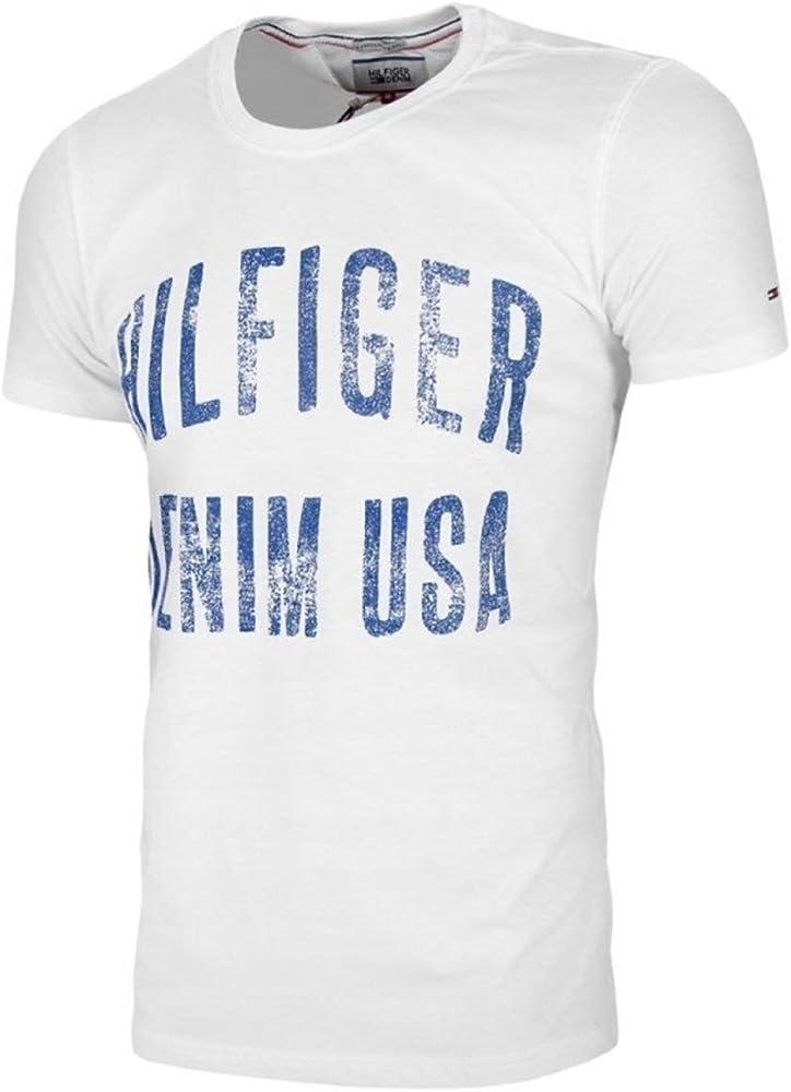 Tommy Hilfiger Hombre Camisetas T-Shirts Denim USA X-Large: Amazon.es: Ropa y accesorios