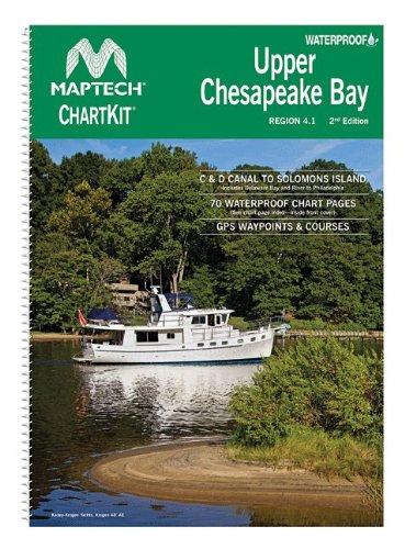 Maptech Waterproof Compact Chart Kit - Upper Chesapeake (Maptech Digital Chart)