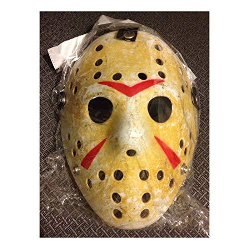 Friday The 13th Hockey MASK Halloween Jason vs Freddy Costume Movie