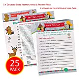 Baby Shower Games Woodland Animals Tribal – Woodland Creatures Baby Shower Game Set Gender Neutral Baby Shower Forest Creatures 25 Cards With 4 Fun Easy Baby Shower Party Games CoEd Baby Shower Games