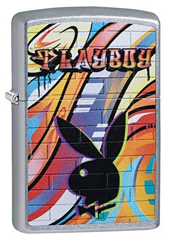 Personalized Zippo Graffiti Playboy Street Chrome Windproof Lighter Free Engraving #49007