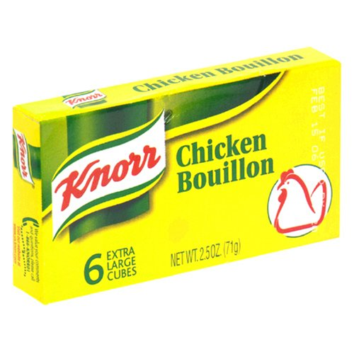 Knorr Bouillon Chicken, 2.5-Ounce Packages (Pack of 24)