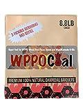 Wood Pellet Pizza Oven 1788 Briquete Premium, 8.8 lb Box, Charcoal