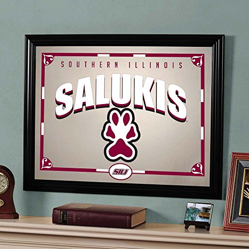 The Memory Company NCAA Southern Illinois University, Carbondale Official Mirror, Multicolor, 23 x 18 by The Memory Company