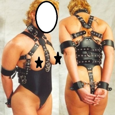 Sub Restriction Bondage Corset Restraint