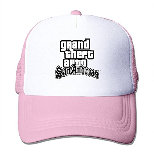 Price comparison product image Pink Grand Theft Auto Liberty City Stories Fitted Hats Sports Caps