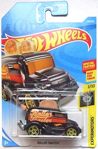 Hot Wheels 2019 Experimotors Roller Toaster (Toaster Car) 24/250, Black (Hot Wheels Camera Car)