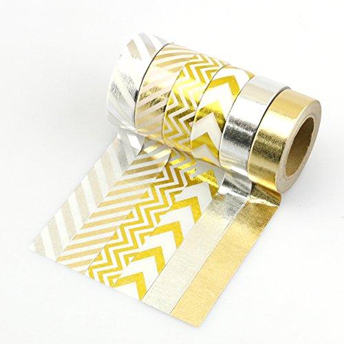 Silver Japanese Washi Masking rolls product image