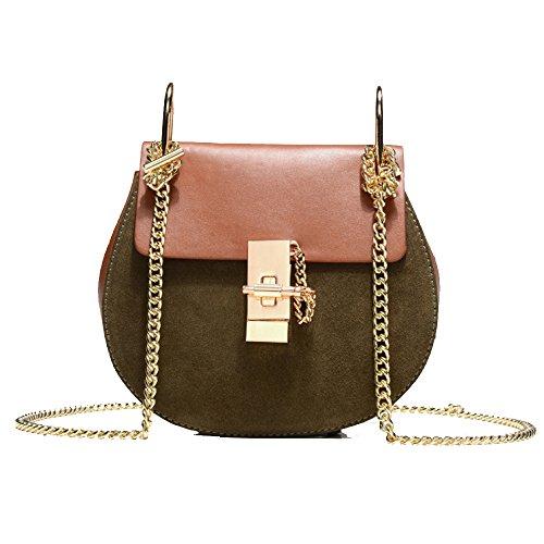 à Yellowwithgray Lady Main Messenger Casual Mode Bandoulière Bag Sac Vintage à HAOXIAOZI Sac f70wq7
