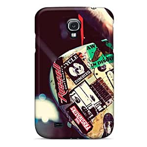 Shock Absorbent Cell-phone Hard Cover For Samsung Galaxy S4 (VCQ7629qdpE) Custom Colorful Green Day Band Series
