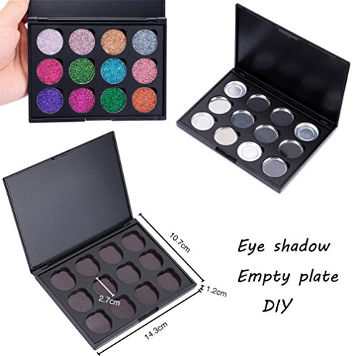 Baomabao Empty Makeup Palette Holder Box Case DIY Eye Shadow