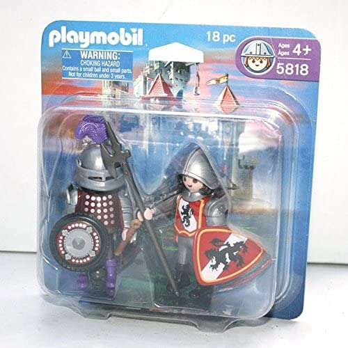 Playmobil Knights 18 Pc Set #5818 by PLAYMOBIL®: Amazon.es ...