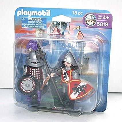 Playmobil Knights 18 Pc Set #5818 by PLAYMOBIL®: Amazon.es: Juguetes y juegos