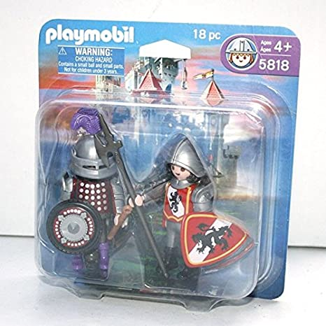 Playmobil Knights 18 Pc Set #5818 by PLAYMOBIL®: Amazon.es ...