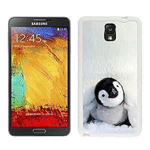 Samsung Note 3 Case,Baby Penguin White For Samsung Note 3 Case WANGJING JINDA