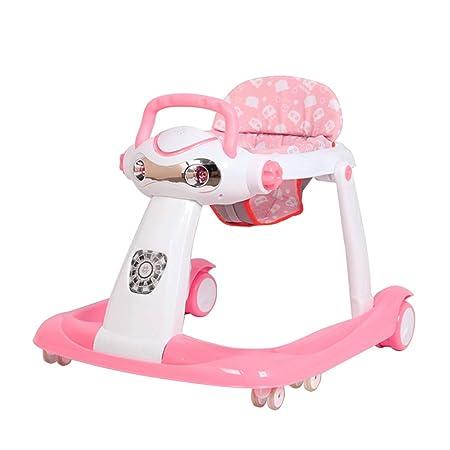 Andador para bebés 2 en 1, (Rosa): Amazon.es: Hogar