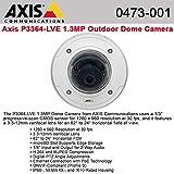 AXIS COMMUNICATIONS P3364-LVE camera wtih 12mm lens 0473-001