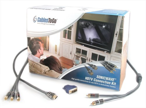 C2G/Cables to Go 40924 SonicWave HDTV Connection (Go Hdtv Cable Kit)