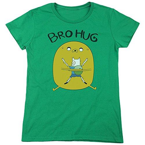 Bro Green Maglietta Time Hug Femme Kelly Adventure xFwYq0tpx