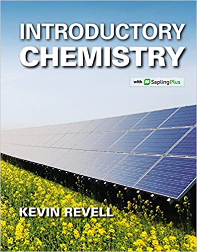 Introductory Chemistry 1, Kevin Revell - Amazon com