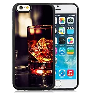 NEW Unique Custom Designed iPhone 6 4.7 Inch TPU Phone Case With Whiskey Glass Rocks_Black Phone Case