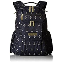 Ju-Ju-Be Legacy Nautical Collection Be Right Back Backpack Diaper Bag, The Admiral