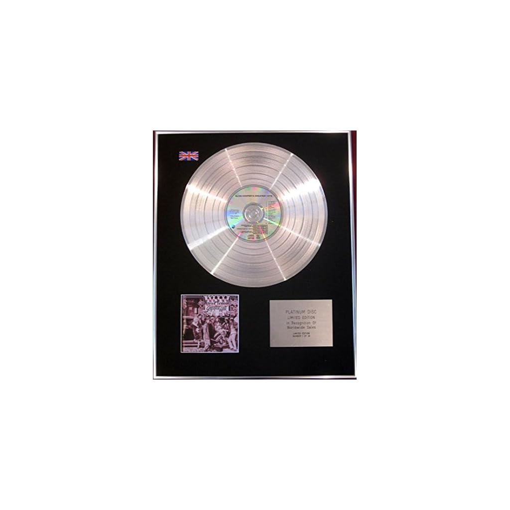 Alice Cooper – CD disco de platino
