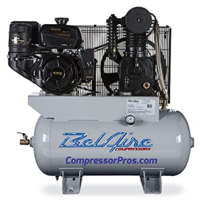 BelAire (BEL4G3HKL) 14HP 30 Gallon Gas Compressor Cast Iron Series