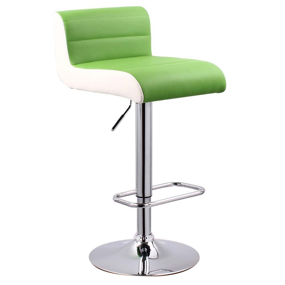 DIDIDD Bar chair stylish bar chairs front desk back sofa stool cashier stool lift up the high stool (color optional),7