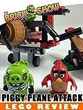 LEGO Angry Birds Piggy Plane Attack Review (75822)