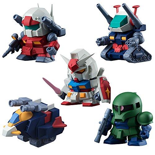 - Bandai Hobby Candy Volume 3 Build Model Gundam Figure (Box of 10)