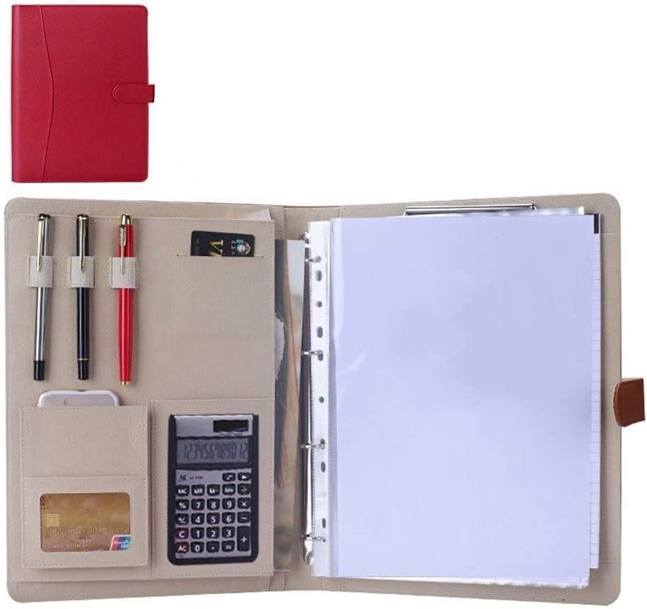 Organizador de carpetas de documentos Cartera De Negocios Estantería Adecuada For Regalos Del Organizador Profesionales For Trabajos Universitarios Y Entrevistas Masculinos Y Femeninos para tableta iP
