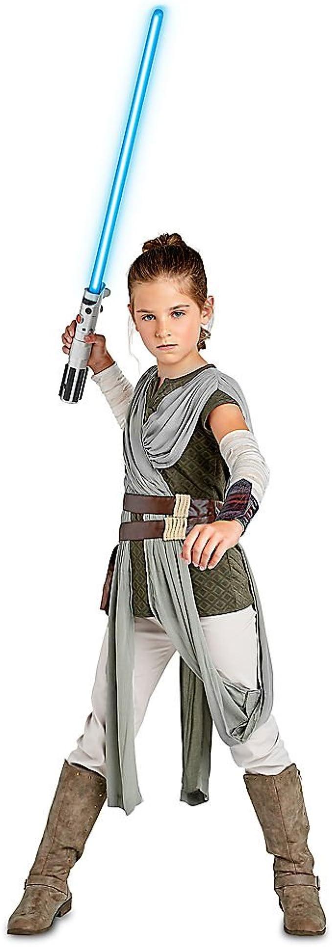 Amazon.com: Disfraz de Star Wars Rey para niños The Last ...
