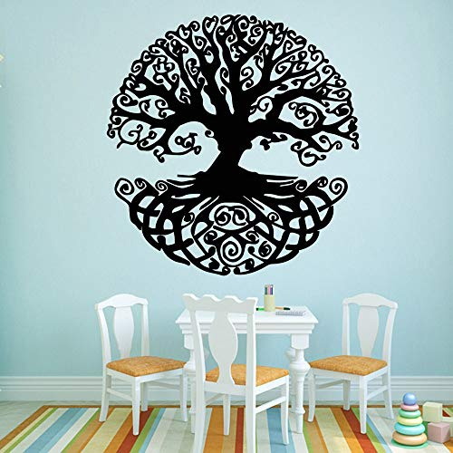 (Giaou Wall Decal Sticker Art Mural Home Decor Quote Tree House Decoration Nursery Room Decor for Living Room)