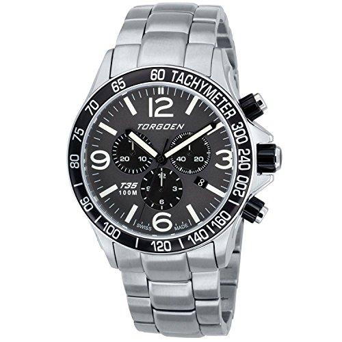 Torgoen Swiss Men's T35202 Pilot Watch