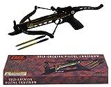 Rogue River Tactical Self Cocking Crossbow 80lb Draw Mini Pistol Cross Bow...