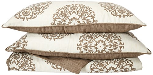 - Stone Cottage Medallion Cotton Sateen Duvet Cover Set, King