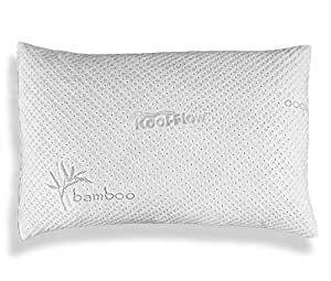 Amazon Com Hypoallergenic Bamboo Pillow Shredded Memory