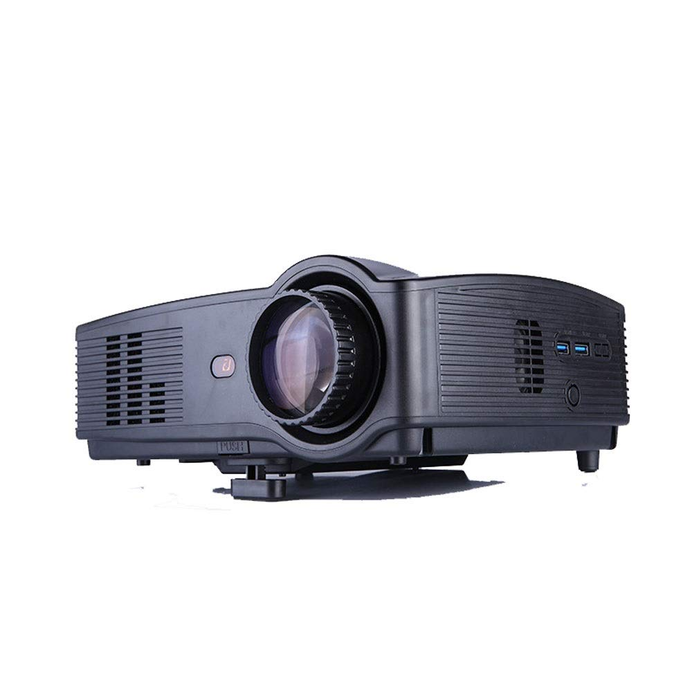 LiChenYao HD Projector SUV-328 LED Home Office Education Multi-Function Projector (Color : Black) by LiChenYao (Image #4)
