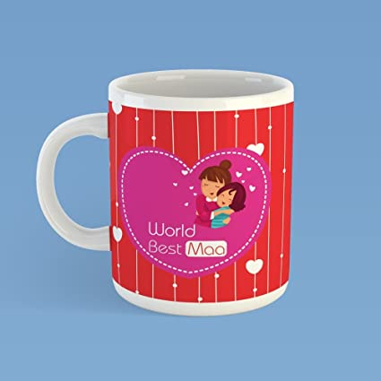 Buy Krazzy Kollections Worlds Best Maa Mug 1 Ceramic Mug Gift