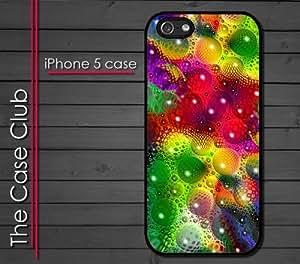 iPhone 5C (New Color Model) Rubber Silicone Case - Lava Color Bubbles Lava Lamp Trippy Cool Colorful