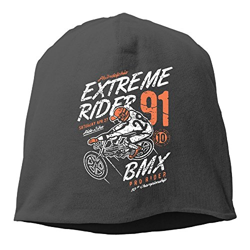 YUYU Men Extreme Rider Fashion Jogging Black Beanies Skull -