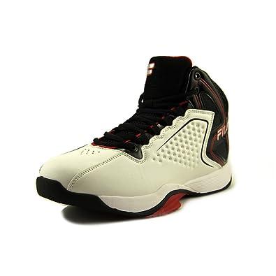 b37bf23c0bea Fila Men s Big Bang 4 Synthetic Basketball Shoes 11.5 White  Buy ...