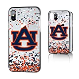 Keyscaper NCAA Auburn Tigers KCLRIX-0AUB-FETTI1 Apple iPhone Clear Case, iPhone X, Clear