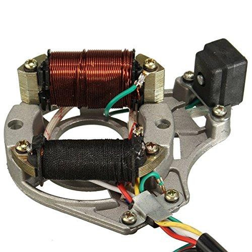 50cc 110cc 125cc 2 coil atv quad stator ignition coil magneto