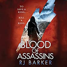 Blood of Assassins Audiobook by RJ Baker Narrated by Joe Jameson