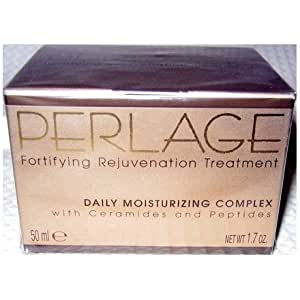 Perlage Fortifying Rejuvenation Treatment Daily Moisturizing Complex with Ceramides and Peptides